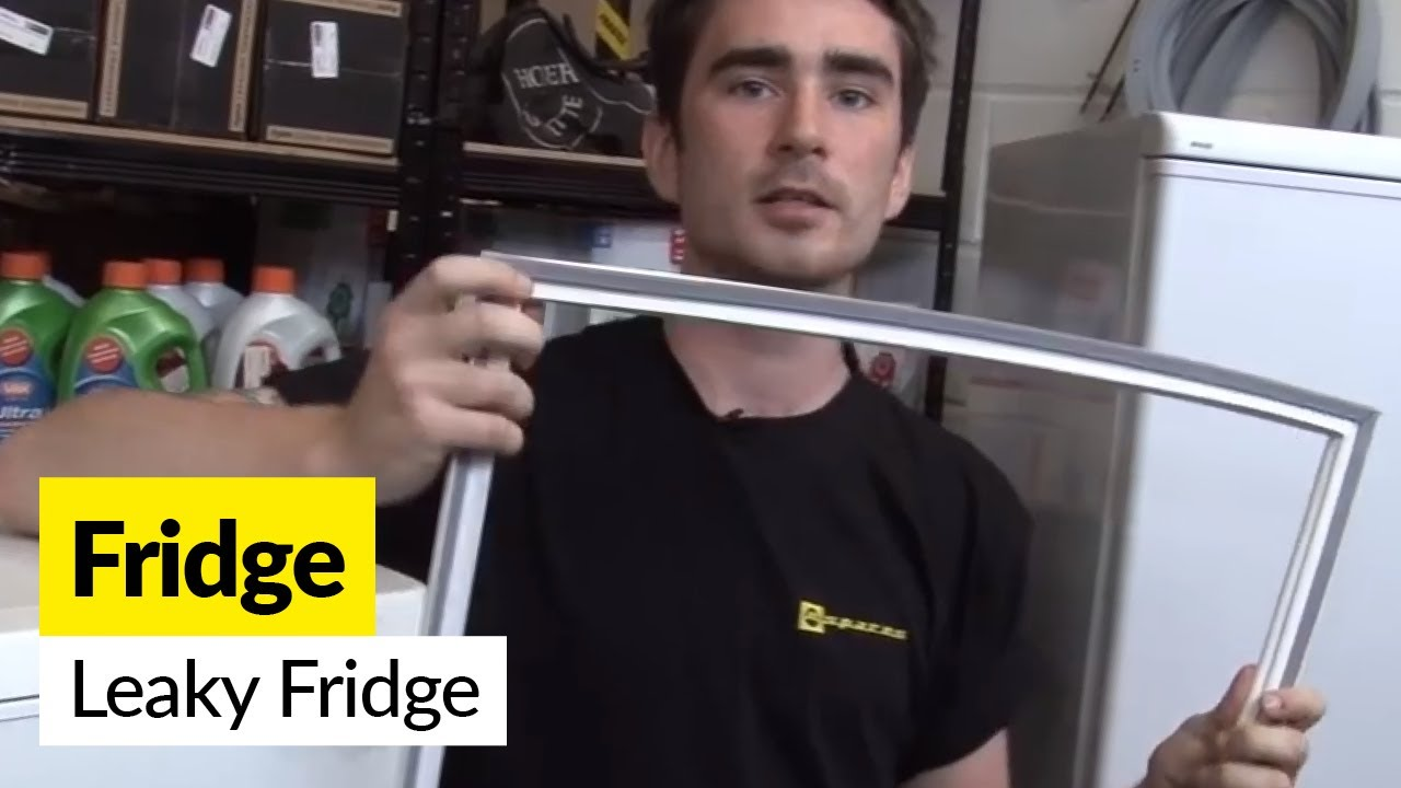 How To Fix A Leaking Fridge