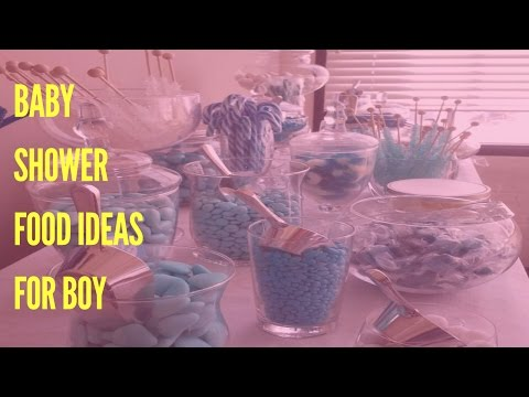 Baby Shower Food Ideas For Boy
