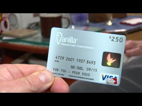 Pre-paid vanilla Visa card troubles