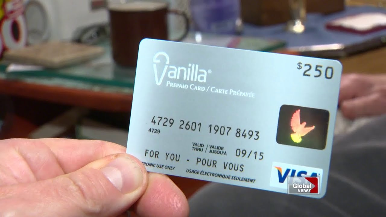 Pre-paid vanilla Visa card troubles - YouTube
