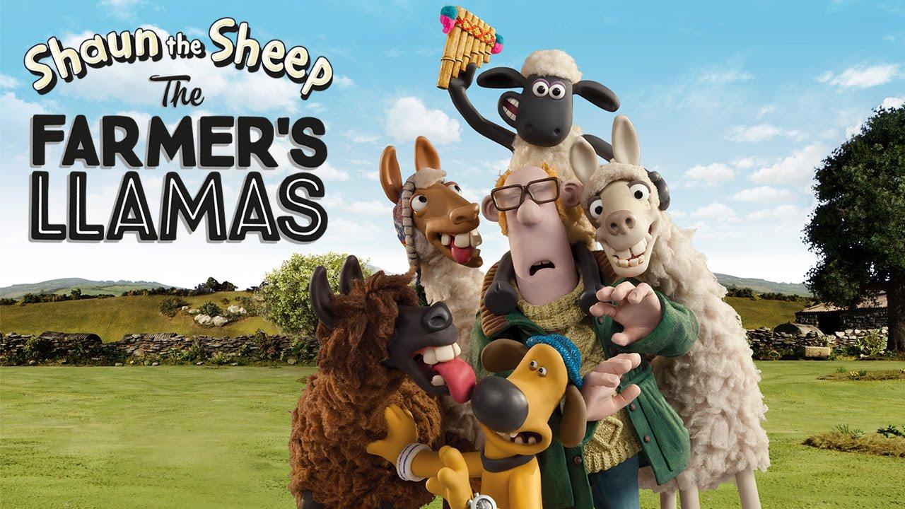 Shaun the Sheep: The Farmer's Llamas Sneak Peek!