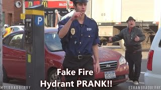 GIVING AWAY FREE TICKETS! FIRE HYDRANT PARKING TICKET PRANK!! thumbnail