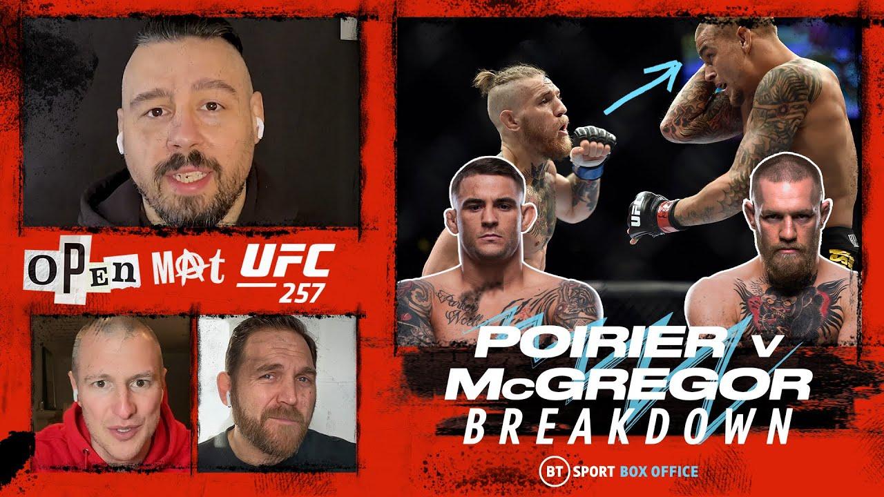 Open Mat Ufc 257 Poirier V Mcgregor Full Fight Breakdown Youtube