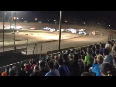 Abilene Speedway Southern Challenge Modified B Main 10-15-16