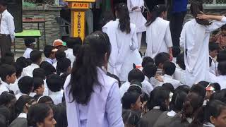 Independence day celebrations at Aims International School