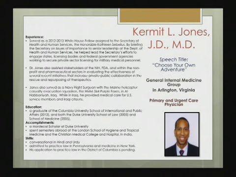 "Kermit L. Jones, J.D., M.D. - ""Choose Your Own Adventure"""