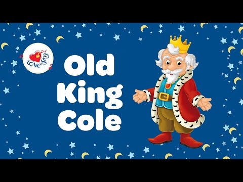 Old King Cole with Lyrics 👴 | Nursery Rhymes | Children Love to Sing