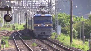 北斗星 EF510-515 那須塩原駅通過 20140531