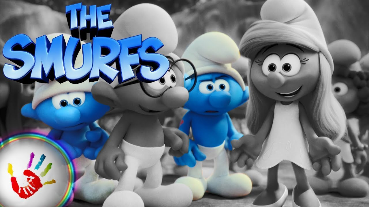 The smurf 3 lost village smurfette clumsy hefty smurf brainy smurf coloring pages video for - Hefty smurf the lost village ...