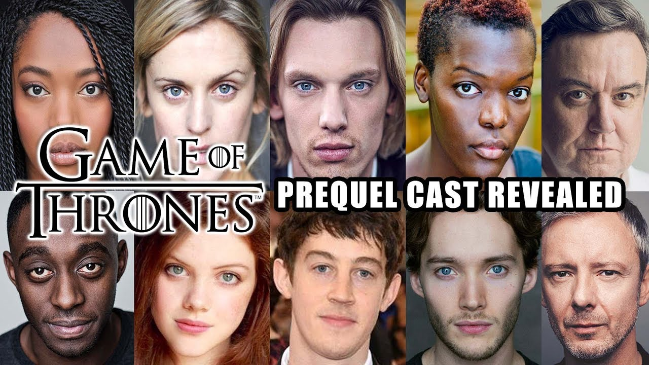 First Look At The Cast For The New Game Of Thrones Prequel Series Youtube