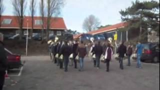 Jachthoornkorps Nationale Taptoe repetitie 17-3-2012