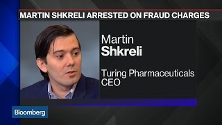 Martin Shkreli Arrested on Securities Fraud Charges