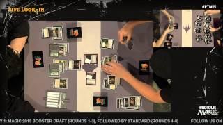 Pro Tour Magic 2015 - Round 5 (Standard) - Gabriel Nassif vs. Fabrizio Anteri