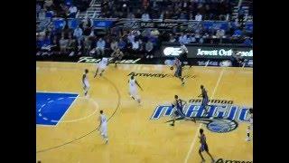 Golden State Warriors vs Orlando Magic : Aaron dunks/ Steph hits a 3
