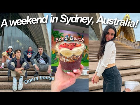A Weekend in Sydney, Australia! - VLOG 1/3