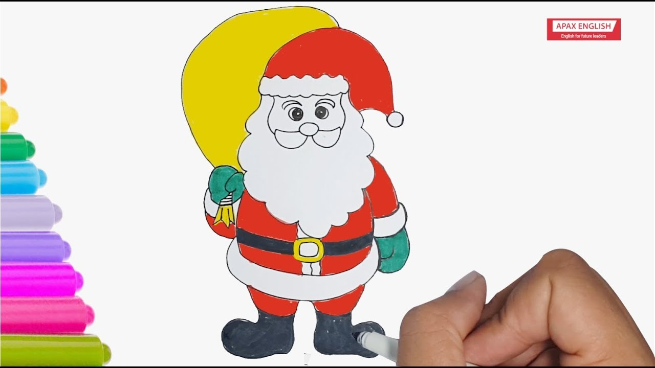 How To Draw Santa Claus Draw Santa Claus Step By Step Easy Draw