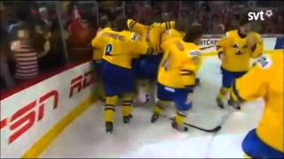 Mika Zibanejad's goal in overtime against Russia (IIHF WJC Final 2012)