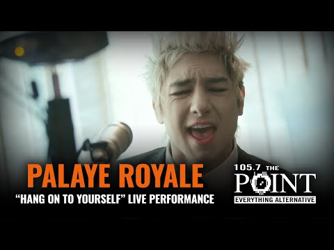 Palaye Royale - Hang on to Yourself (LIVE) acoustic performance from THE POINT Studio