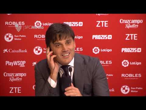 Declaraciones Vincenzo Montella 30/12/17. Sevilla FC