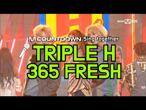 [MCD Sing Together] Triple H - 365 FRESH Karaoke ver.