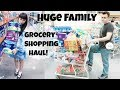 Fiance and I | Huge Family Grocery Shopping Haul! | Family lIfe!