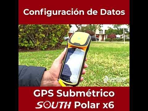 05 Configuración - GPS Submétrico South X6 Polar