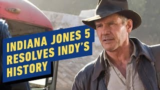 Harrison Ford: Indiana Jones 5 Will