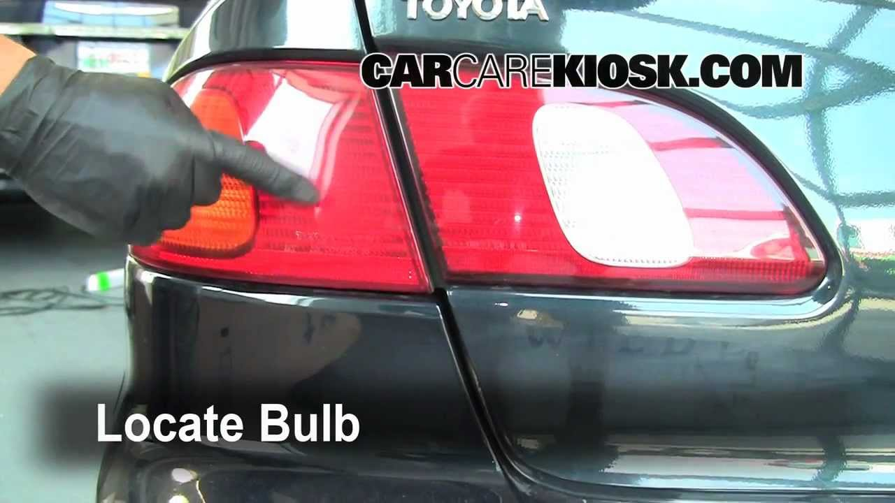 1999 Toyota Corolla Bulb Change How To Preview