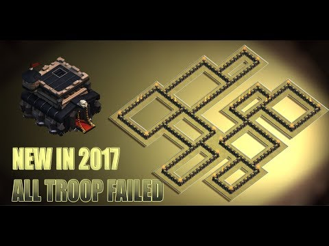 NEW IN 2017 | WAR BASE RECENTLY MAY NOT GET 3 STARS | CLASH OF CLANS