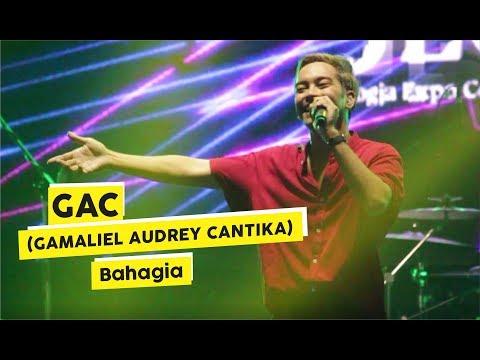 [HD] GAC (Gamaliel Audrey Cantika) - Bahagia (Live At KICKFEST 2018)