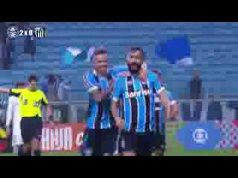 Gremio 3 x 2 Santos   Gols & Melhores Momentos   29 06 2016 HD