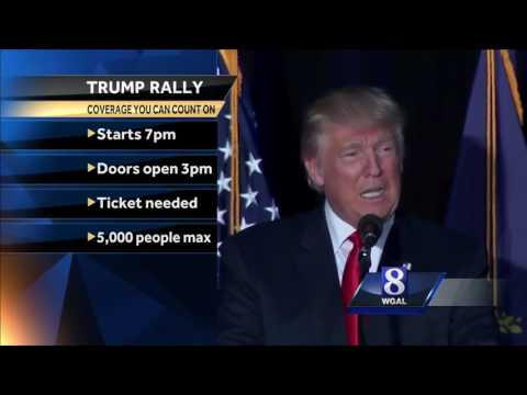 Trump makes stop at Spooky Nook in Lancaster County