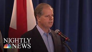 Democrat Doug Jones Wins Alabama Special Election In Stunning Upset | NBC Nightly News