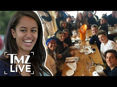 Malia Obama: Life After The White House | TMZ Live