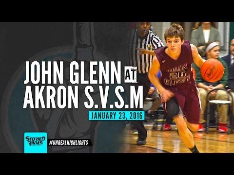HS Basketball | John Glenn at St. Vincent St. Mary [1/23/16]