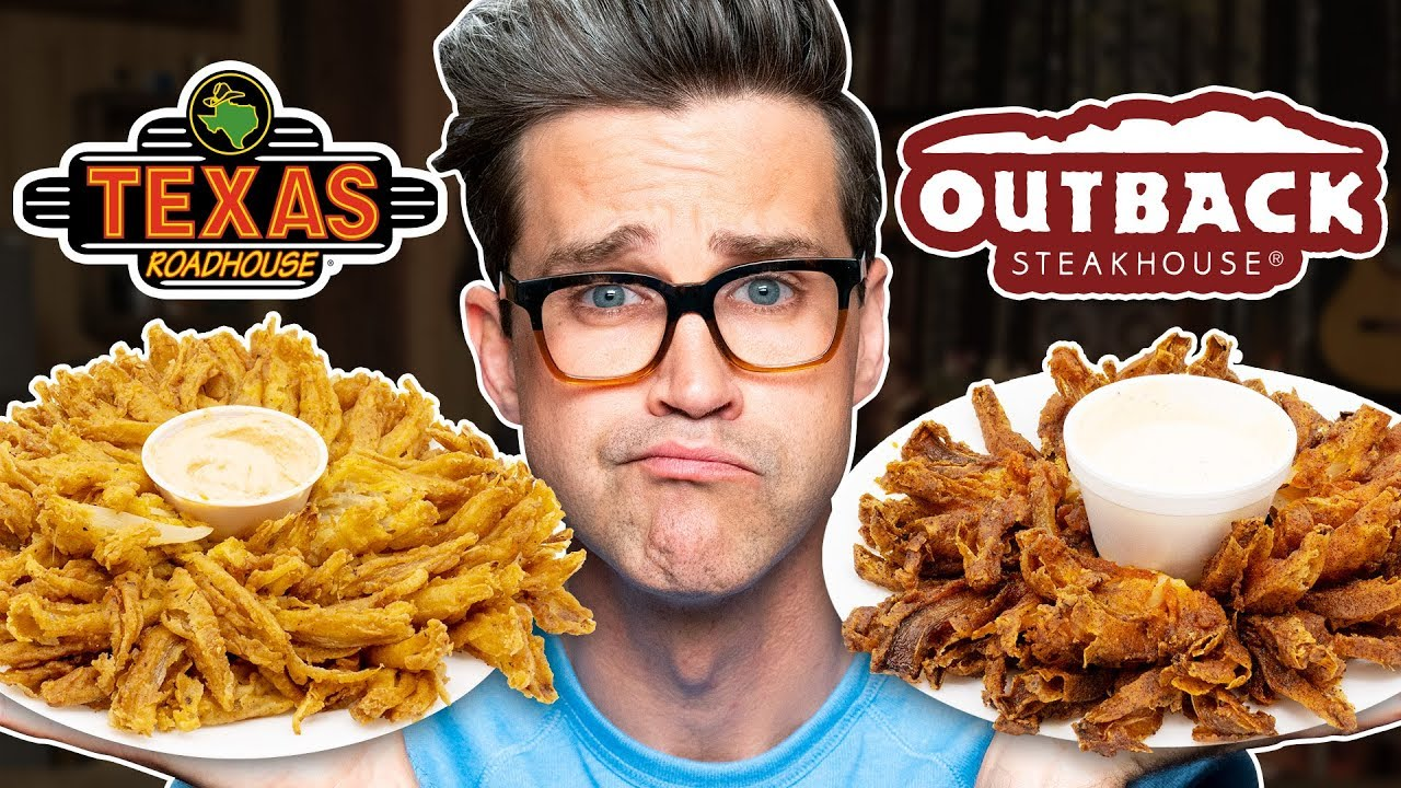 Download Texas Roadhouse vs. Outback Steakhouse Taste Test | FOOD FEUDS