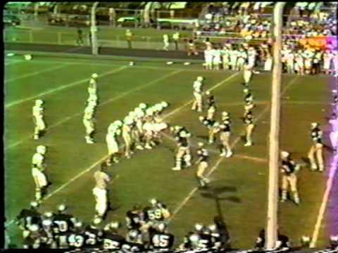 Oceanside, NY vs Berner HS Football 1982 Part 4 of 5