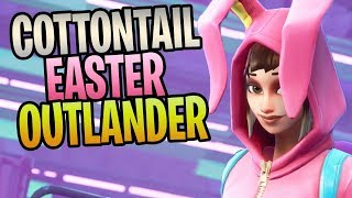 FORTNITE - New COTTONTAIL Eagle Eye Easter Outlander (New Twine Peak Difficulty Missions)