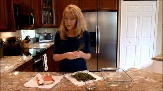How To Make Bacon Wrapped Asparagus On The Grill With Ms. Gayla