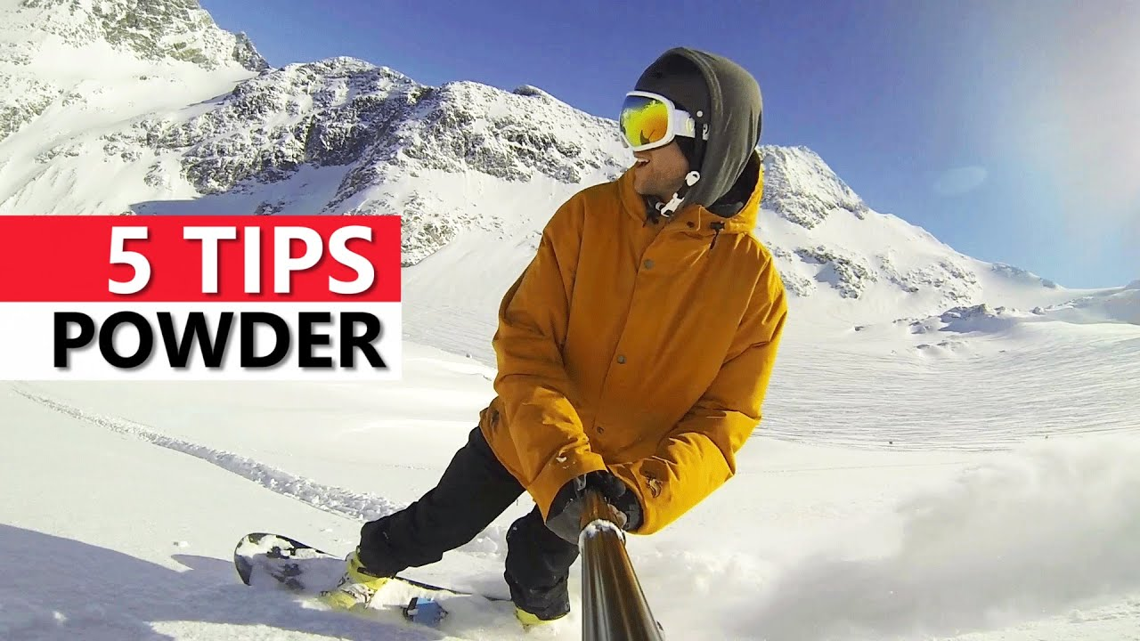how to snowboard tips with regard to Residence