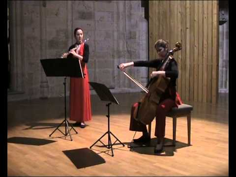 Astor Piazzolla Café 1930 pour flûte et violoncelle