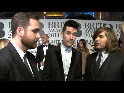 Brit Awards 2014  Bastille interview before winning
