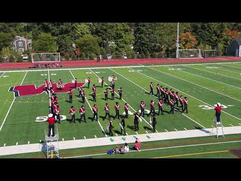 Westborough High School Ranger Marching Band Halftime Show - 21 Sep 2018