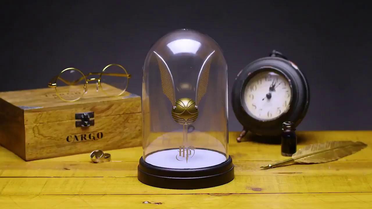 Lampe Harry Potter Golden Snitch Light Paladone Youtube