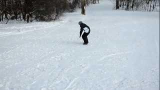 Сноуборд,9янв2013 Дубль два, хороший спуск
