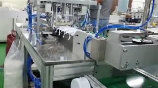 3겹 마스크 생산설비 테스트 영상