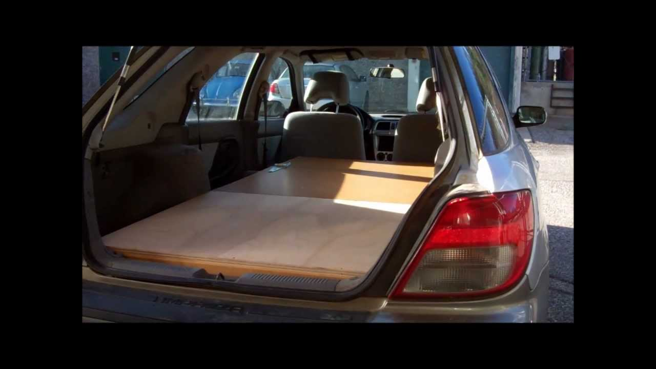 Wooden Subaru Bed Youtube