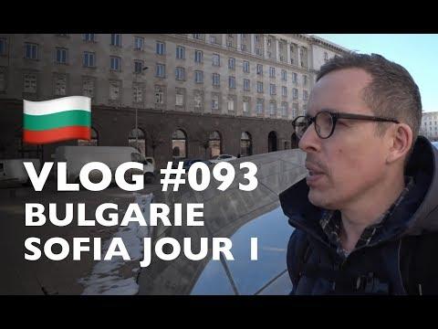 VLOG #93 : BULGARIE SOFIA JOUR 1 (J'ARRIVE DANS LA CAPITALE DE LA BULGARIE)