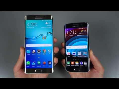 Comparison:  Samsung Galaxy S6 Edge+ vs. Galaxy S6 Edge