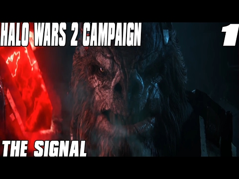 Halo Wars 2 Campaign Mission 1 The Signal